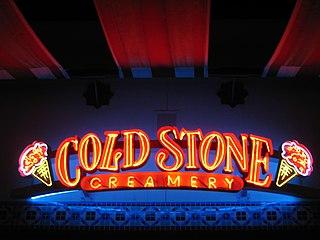 Cold Stone Creamery company