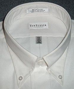 Dress shirt with button-down collar