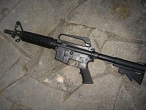 Colt 9mm SMG - Image: Colt SMG 635
