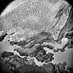 Columbia Glacier, Valley Glacier Ablation Moraine, Terminus, August 21, 1979 (GLACIERS 1132).jpg