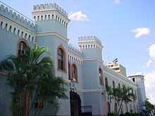 Edificio de la comandancia de las ffaah