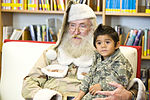 Commando Santa visits the Hurlburt Field library 121201-F-RS318-010.jpg