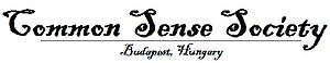 Official logo of Common Sense Society Budapest