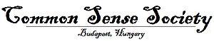 Official logo of Common Sense Society Budapest