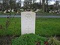 Commonwealth War Grave in Jarrow Cemetery (WW2-30) - geograph.org.uk - 1605048.jpg