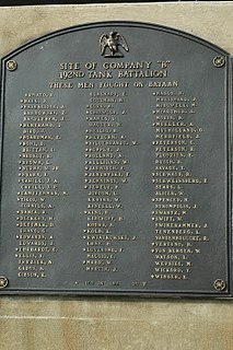 memorials in the United States and Philippines