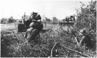 Operation Buffalo (1967) - Company K, 3/9 Marines with 3rd Tank Battalion M48 tanks
