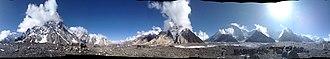 Concordia (Karakoram) - Image: Concordia Panorama