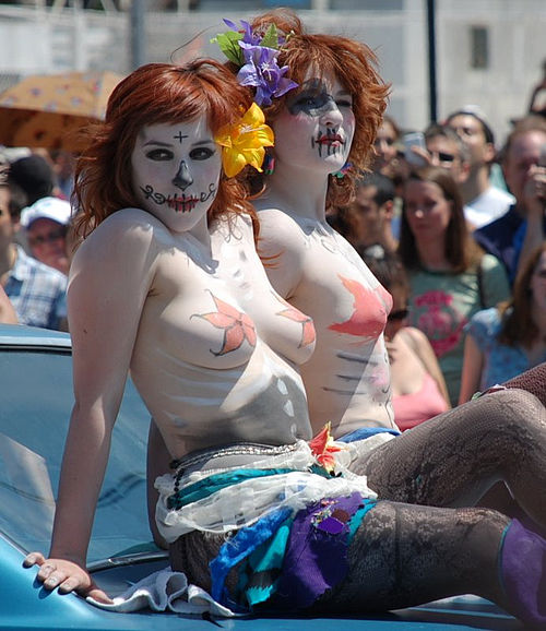Coney Island- Mermaid Parade - Goth Mermaids