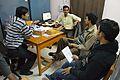Conference Preparation - Bengali Wikipedia 10th Anniversary Celebration - Jadavpur University - Kolkata 2015-01-07 2316.JPG