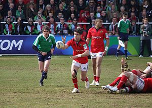 Conor Murray - Connor Murray playing scrum-half for Munster
