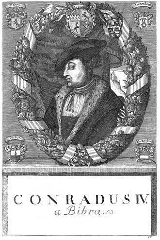 Conrad von Bibra - Image by Johann Salver