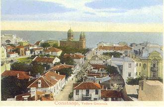 Constanța - Constanța panorama in 1910