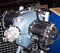 Continental A40 4-piston engine at Aviodrome Lelystad.jpg