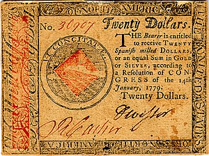 Continental Currency $20 banknote obverse (January 14, 1779).jpg