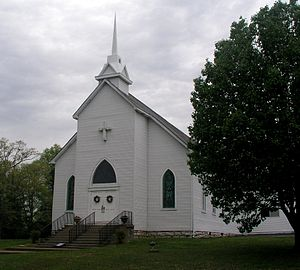 Mount Juliet, Tennessee - Dating back to the mid-1800s Cook's United Methodist Church is one of the oldest churches in Mt. Juliet