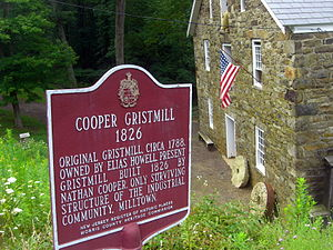Morris County, New Jersey - The Cooper Mill in Chester Township