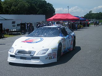 Thompson Speedway Motorsports Park - An East Series car at Thompson in 2009