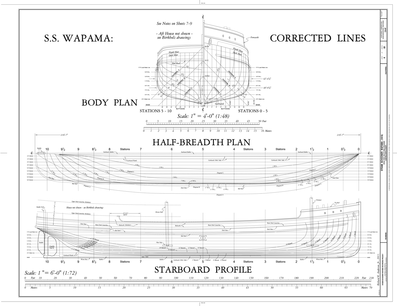 File Corrected Lines Body Plan Half Breadth Plan