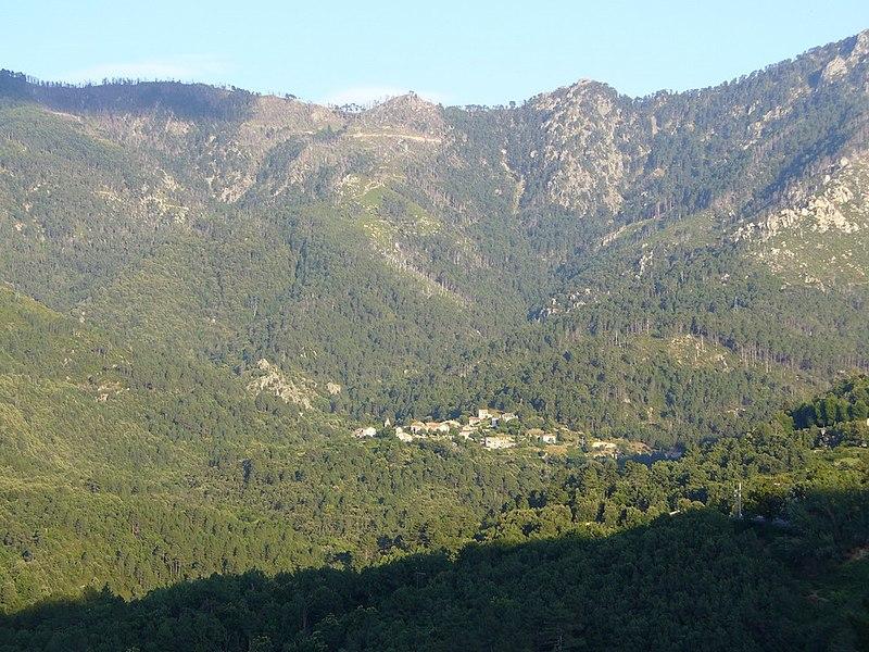 Corsica - Muraccione from the train