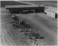 Cortaro Farms, Pinal County, Arizona. Part of equipment yard seen from water tower. - NARA - 522501.tif
