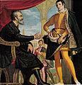 Cosimo gamberucci, michelangelo e francesco I de medici.jpg