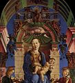 Cosmè Tura - Madonna with the Child Enthroned (detail) - WGA23117.jpg