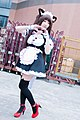 Cosplayer of Chocola, Nekopara at FF29 20170212a.jpg