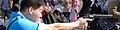 Cosplayer of Kankichi Ryotsu, Kochikame 20120205b.jpg