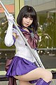 Cosplayer of Sailor Saturn at FF30 20170729a.jpg