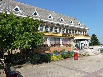 Courcelles-lès-Lens - The town hall of Courcelles-lès-Lens