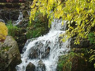 Governor Dodge State Park - Image: Covalleydamnfalls