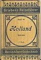 Cover of Holland, Griebens Reiseführer.jpg