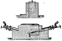 artist's rendition of a furnace