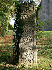 Cross Shaft On West Side Of Church Of St.peter, 12 Yds. North-west Of Tower