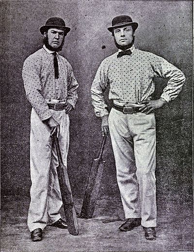 Cricket, WG Grace, 1891- Thomas Hayward and Robert Carpenter.jpg