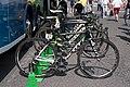 Critérium du Dauphiné 2014 - Etape 7 - vélos d'Orica.jpg