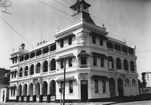 Criterion Hotel, Rockhampton - Criterion Hotel, 1948
