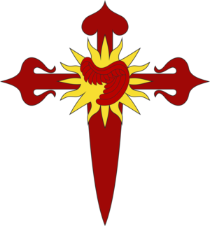 Order of Saint Michael of the Wing - Image: Cross wing saint michael