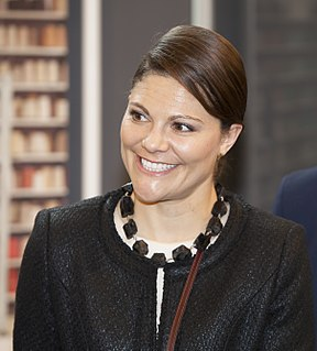 Victoria, Crown Princess of Sweden Swedish crown princess