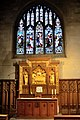 Croydon Minster, The St Nicholas Chapel altar and window.jpg