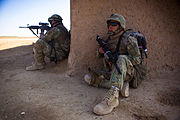 Crucible of cooperation U.S. Marines, Georgians keep Taliban off balance 15