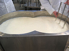Manufacture of cheddar cheese - Wikipedia
