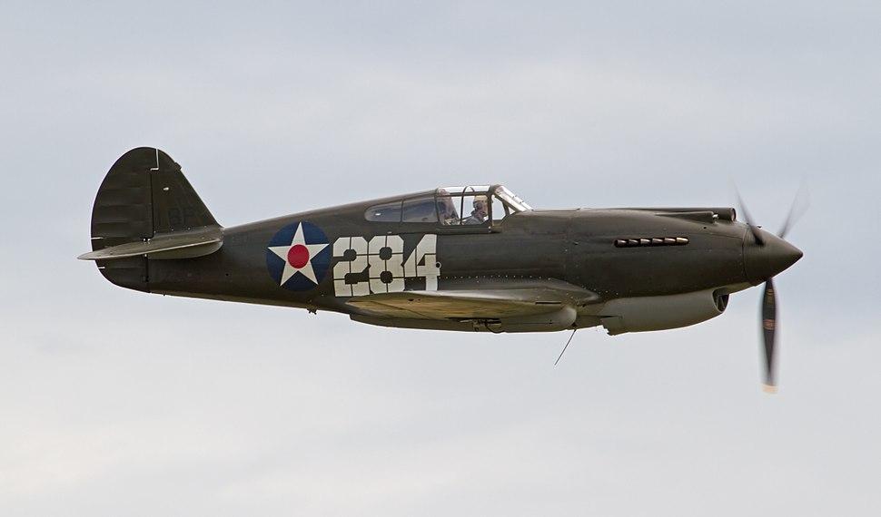 Curtiss P-40B 41-13297 4
