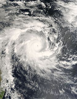 Cyclone Bondo South-West Indian cyclone in 2006