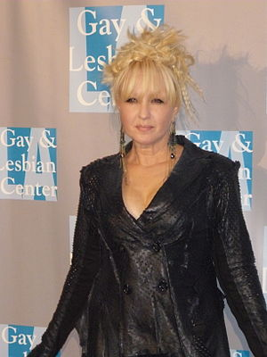 Cyndi Lauper is one of the few winners who are close to being an EGOT. Cyndi Lauper at An Evening With Women event.jpg