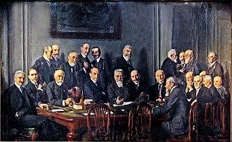 Comité des forges - Le comité des forges (1914) by Adolphe Déchenaud