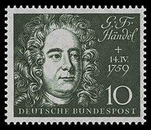 Briefmarke der Deutschen Bundespost (1959) zum 200. Todestag und zur Einweihung der Beethovenhalle (Quelle: Wikimedia)