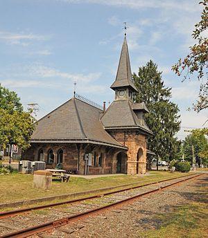 Demarest, New Jersey - Demarest Railroad Depot