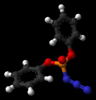 Diphenylphosphoryl azide chemical compound